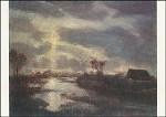 Modersohn, O. Mondnacht im Moor, 1940. KK