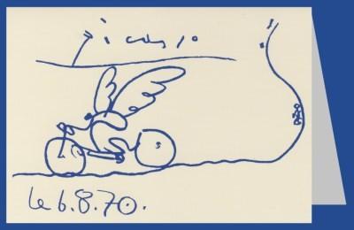 Pablo Picasso. Der Radfahrer