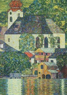 Gustav Klimt. Kirche in Unterach am Attersee, 1916