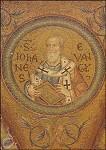 Narthex. Evangelist Johannes