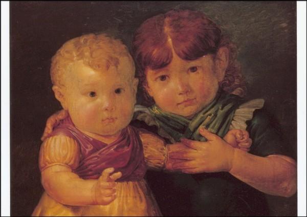 Runge. Die Kinder Maria-Dorothea u. Otto Sigismund Runge.KK