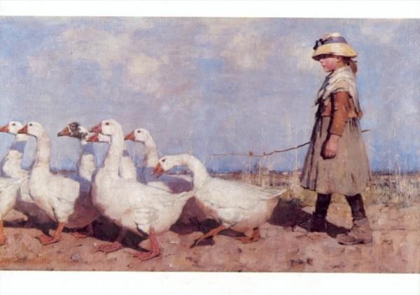 Sir James Guthrie. Zu neuen Weiden, 1883
