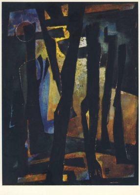 Schreiter, J. Exekution der Hoffnung, 1957. KK