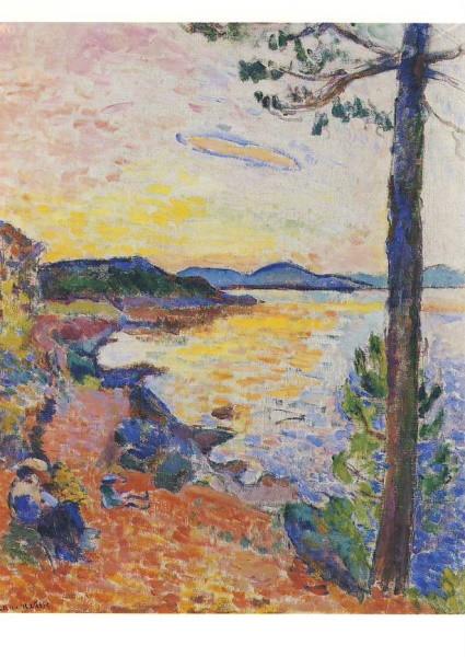 Henri Matisse. Die Bucht von Saint-Tropez, 1904. KK