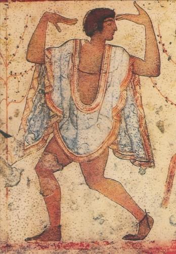 Etruskisch. Tänzer, 480 v. Chr. KK
