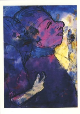 Emil Nolde. Paar, blauviolett, 1931/35