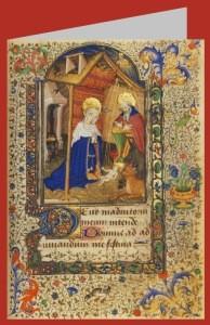 Geburt Christi, Miniatur, 15./16. Jh.