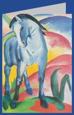 Franz Marc. Blaues Pferd I. 1911