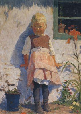 Elisabeth Büchsel. Truding, 1916. KK