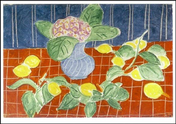 Henri Matisse. Zitronen u. Steinbrech-Gewächse, 1943