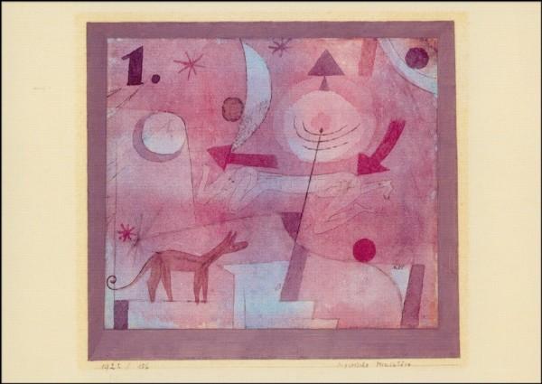 Klee, P. Mystische Miniatüre, 1922. KK