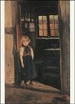 Modersohn, O. Mädchen im Türrahmen, 1888. KK