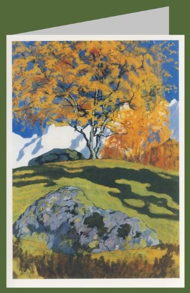 Giacometti, Giovanni. Herbst,1903. DK