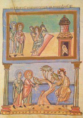 Die Frauen am leeren Grab, zw. 997-1011. KK