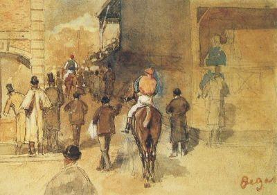 Edgar Degas. Nach dem Wiegen
