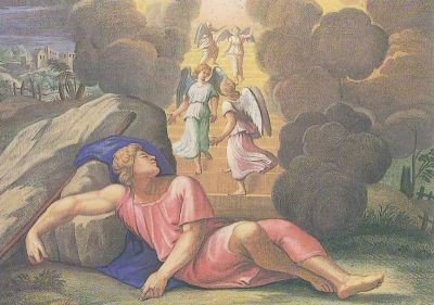 Raffael. Im Traum sah Jakob eine Leiter/Himmel. KK