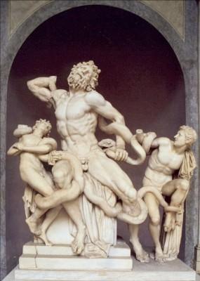 Agesandros. Laokoon-Gruppe, Mamor, um 50 v. Chr. KK