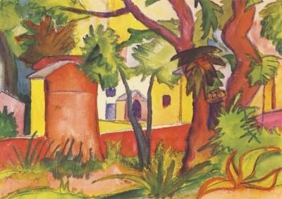 Hermann Hesse. Kreuzweg zur Kirche Madonna d´Ongero, 1923