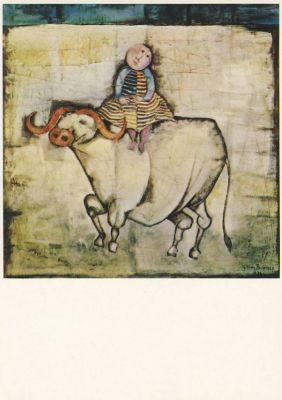 Graciela-Rodo Boulanger. Der weiße Büffel