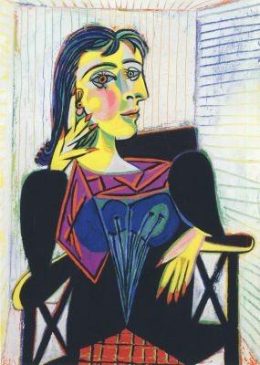 Pablo Picasso. Portrait Dora Maar, 1937