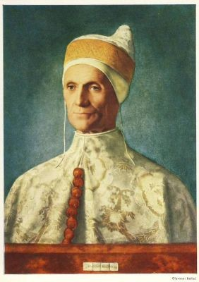 Giovanni Bellini. Bildnis des Dogen Leonardo. Loredano