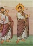 Christus und Apostel um 980-993. KK