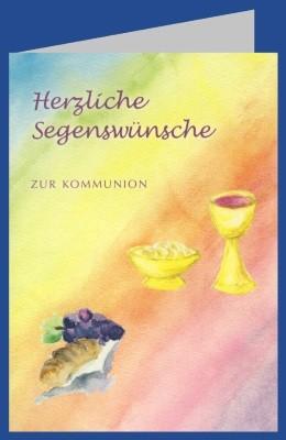 Bernadette Höcker. Herzliche Segenswünsche zur Kommunion