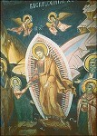 Byzantinisch. Höllenfahrt Christi. Rumänisch. KK