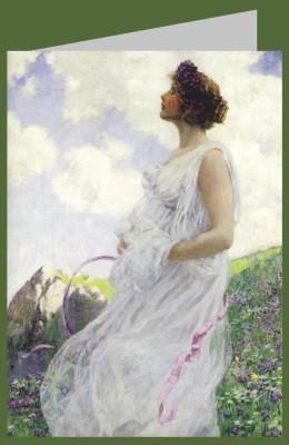 Georg Hitchcock. Calypso, 1906