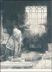 Rembrandt. Der Alchimist. KK