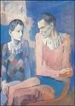 Pablo Picasso. Akrobat und junger Harlekin. KK