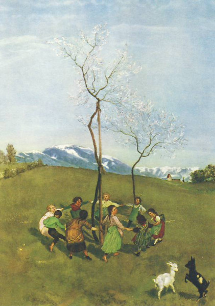 Frühlingsreigen, Thoma