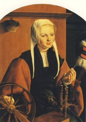 Heemskerck, M. Bildnis von Anna Codde. KK