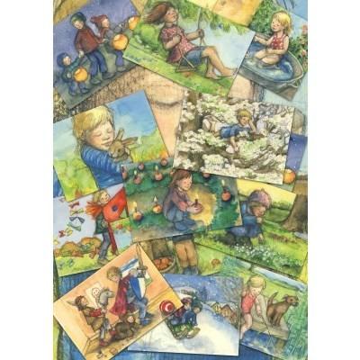Sanne Dufft. Monatskarten - 12er Set