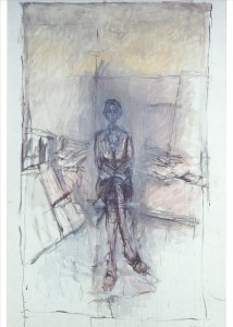 Giacometti, Alberto. Annette im Atelier. KK