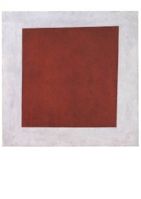 Malewitsch, K. Rotes Quadrat, 1915.