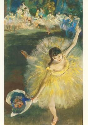 Edgar Degas. Tänzerin (Fin d´Arabesque), 1877