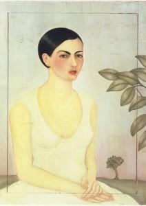 Frida Kahlo. Dame in Weiß, 1928