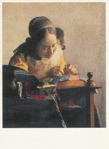 Jan Vermeer van Delft. The lacemaker. KK