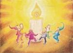 Almut Hewel. Tanz der Zwerge zum Geburtstag