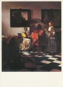 Jan Vermeer van Delft. Das Konzert. KK
