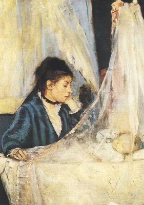 Die Wiege 1873, Morisot