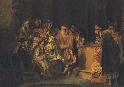 Eeckhout, G. Der zwölfjährige Jesus im Tempel. KK