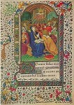 Geistsendung. Stundenbuch, Ende 15. Jh. KK