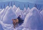 Gabriele Münter. Winter im Murnauer Moos, 1932. KK