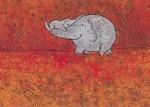 Korth-Sander, I. Kleiner Elefant auf dem Rüssel. KK