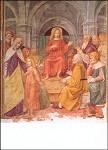 Borgognone. Der zwölfjährige Jesus im Tempel, 49/68 . KD