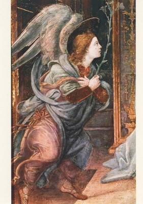 Lippi, F. Verkündigungs-Engel. KK