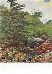 Hodler, F. Bach mit Baum und Felsen, 1910. KK