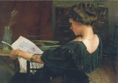 Alexander Mann. Portrait Helen Gow